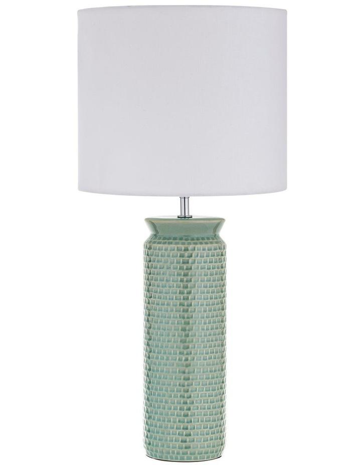 Husk Table Lamp Mint 30x61cm image 1