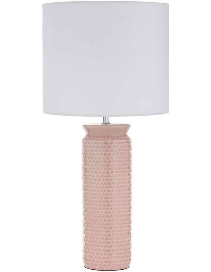 Husk Table Lamp Light Pink 30x61cm image 1