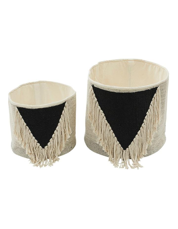 Set of 2 Gypset Baskets image 1
