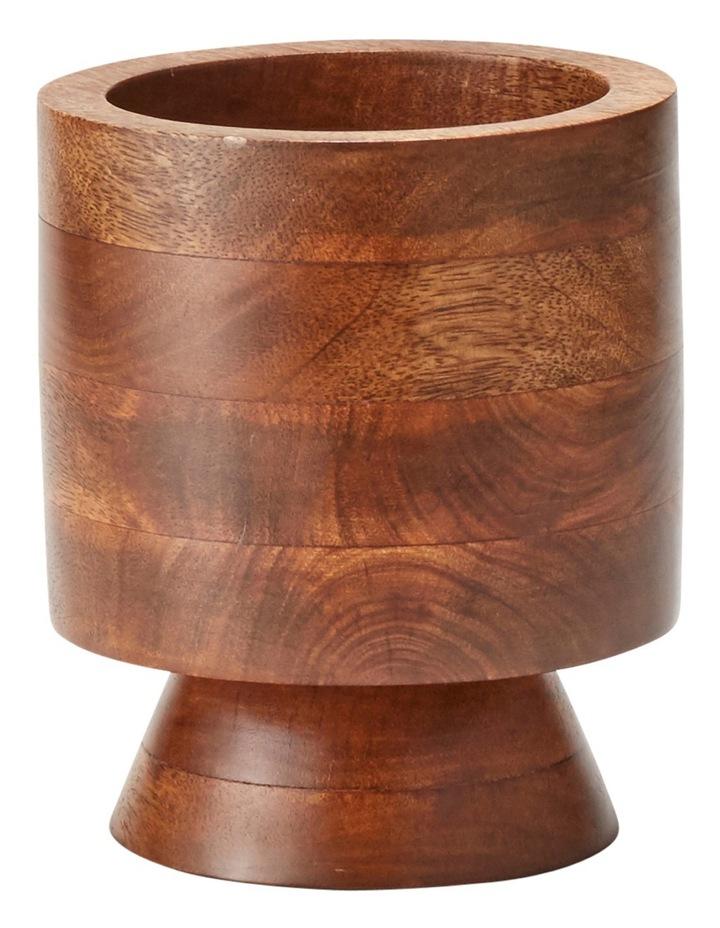Maha Planter Wood 17x20cm image 1