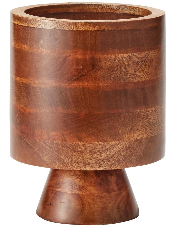 Maha Planter Wood 20x26cm image 1