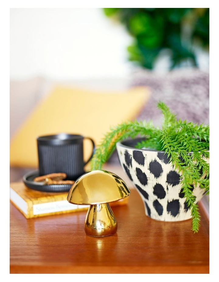 FUN GUY Decor Object - Gold - 10cm image 3