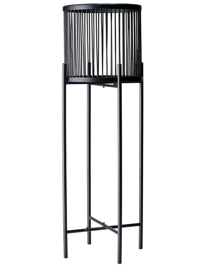 RHYTHM Plant Stand - Black - 32x100cm image 1