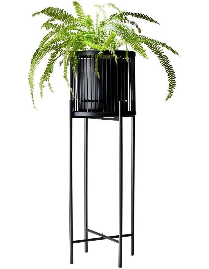 RHYTHM Plant Stand - Black - 32x100cm image 2