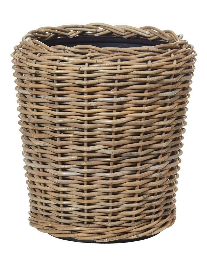 Rattan Pot with Tub Natural 42x42x40cm image 1