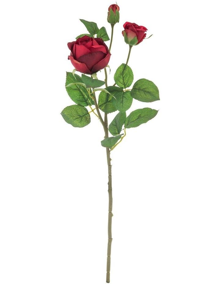 Garden Rose Spray Red 20x15x53cm image 1