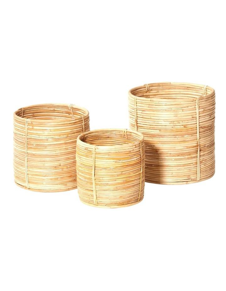 Set of 3 Shenan Baskets image 1