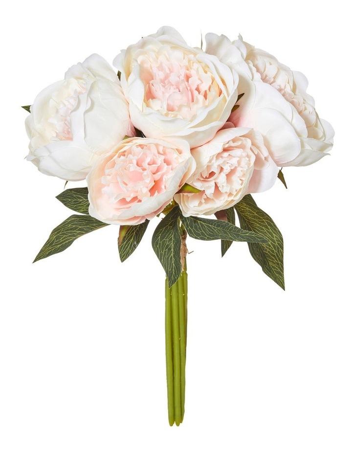 Peony Bouquet Pink 25x25x37cm image 1