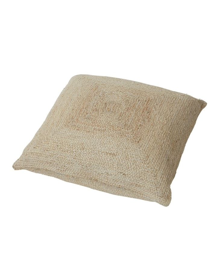Amalfi Lakita Floor Cushion Natural 60x60cm image 1