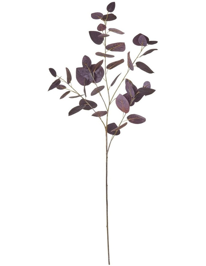 Eucalyptus Leaf Spray Burgundy 40x30x92cm image 1