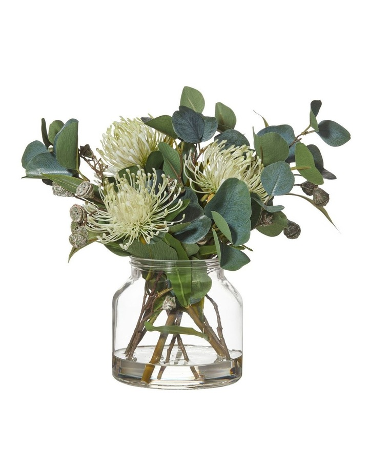 Pin Cushion Mix in Glass Jar Light Green 44x35x35cm image 1