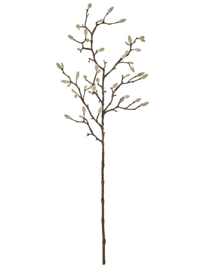 Magnolia Bud Spray Natural 25x10x74cm image 1