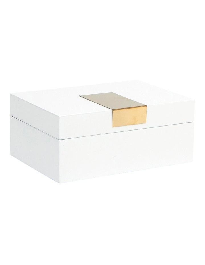 Heirloom Jewellery Box 18cm - White image 2