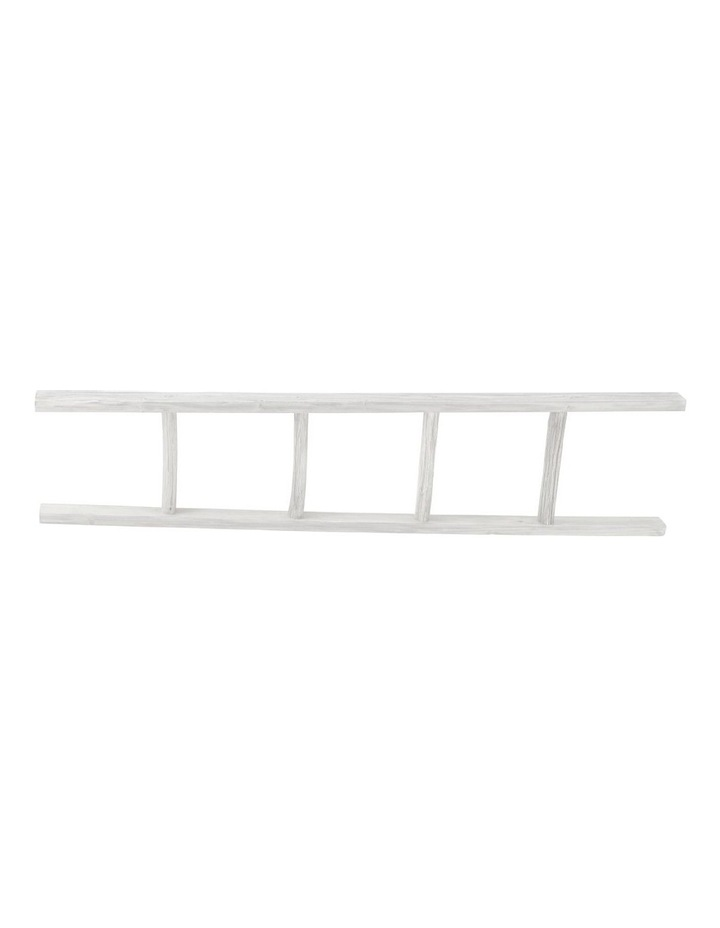 Wooden Ladder White 150cm image 1