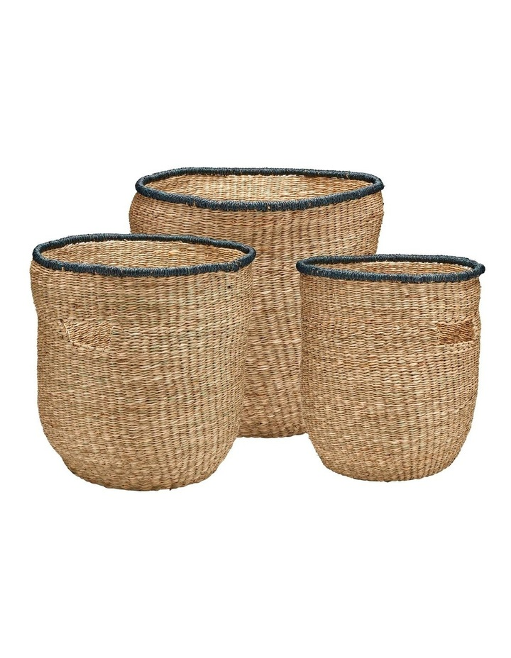 CASABLANCA Storage Basket - Set of 3 image 1