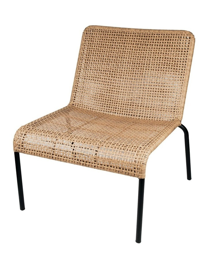 Kennedy Natural Lounge Chair W70x70xh75.5cm image 1