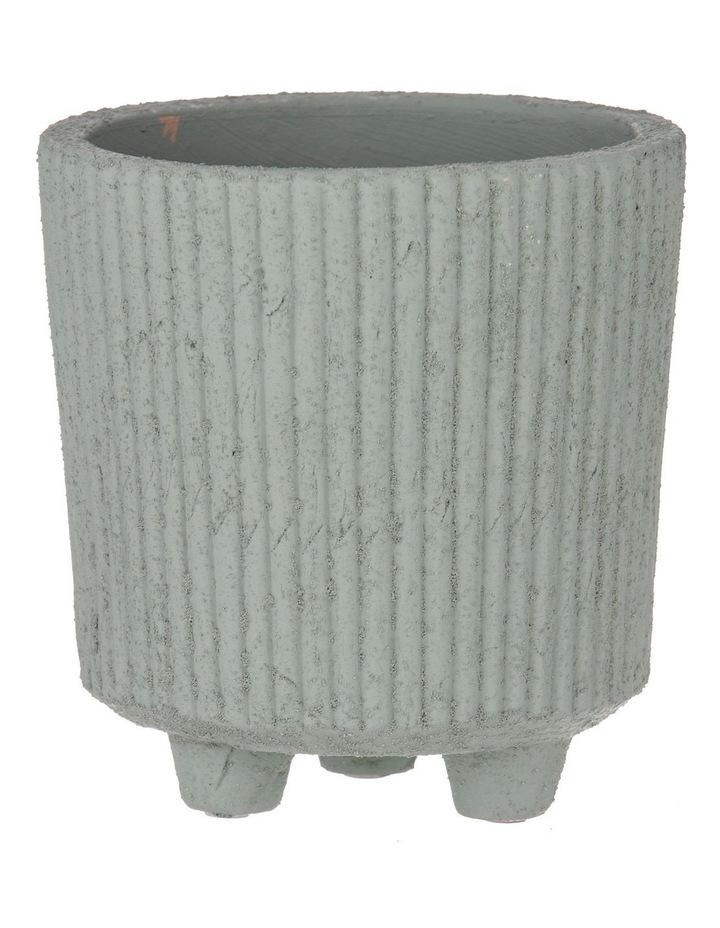 Aurora Pot Sage 18.5x17.5x17.5cm image 1