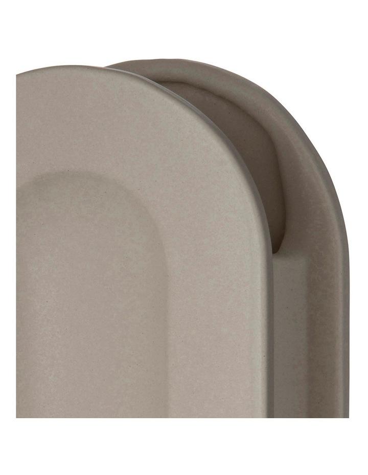 Arco Vessel 16x9x28cm Matte Beige Earthenware/Glaze image 2