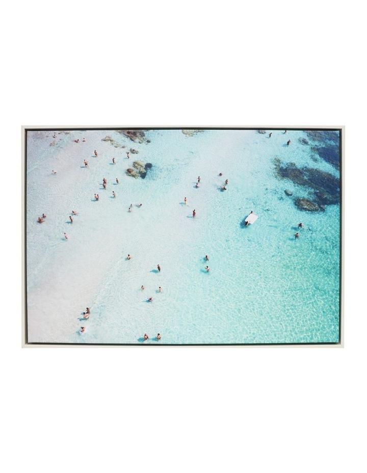 Splosh Coastal Beach Framed Canvas 94x64cm image 1