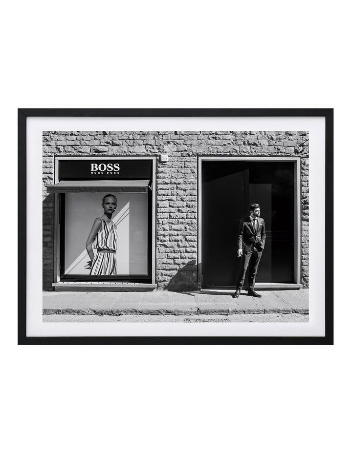 Boss Print Black Frame image 1