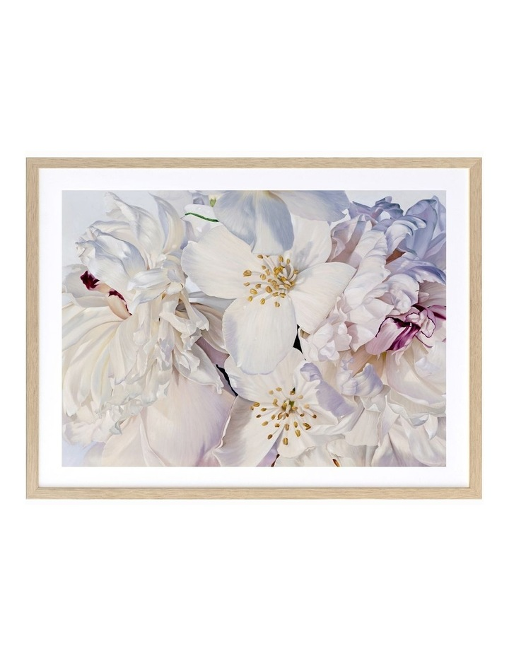 Exquisite Print Oak Frame image 1