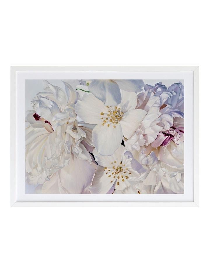 Exquisite Print White Frame image 1
