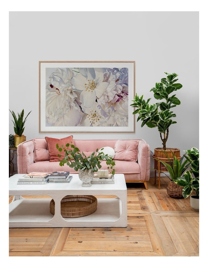 Exquisite Print White Frame image 2