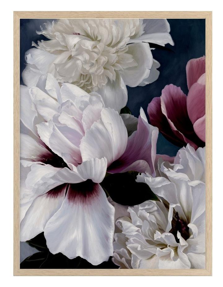 Fiore Print Oak Frame image 1