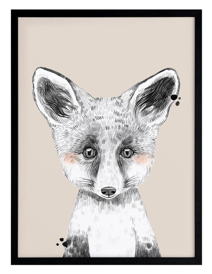 Fox In Socks Black Frame image 1