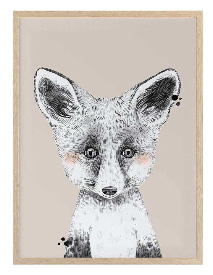 Fox In Socks Oak Frame image 1