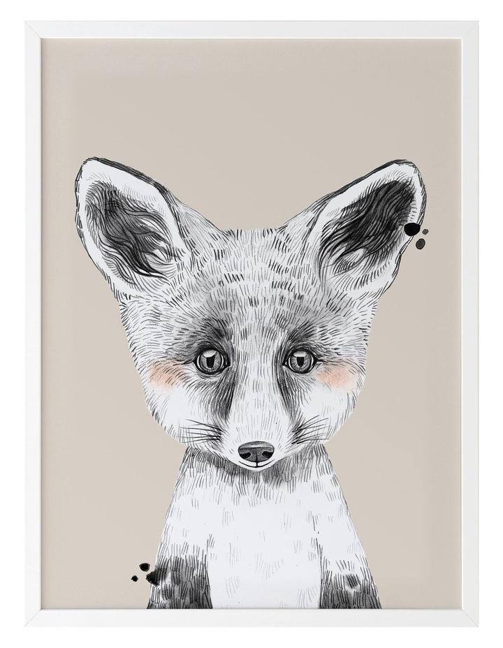 Fox In Socks White Frame image 1