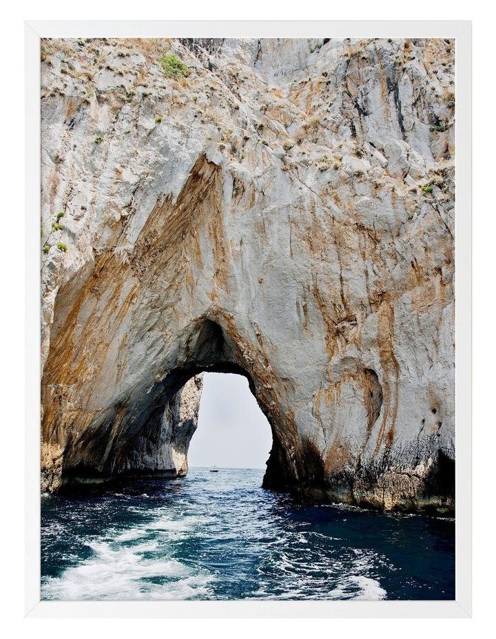 Grotto Print White Frame image 1