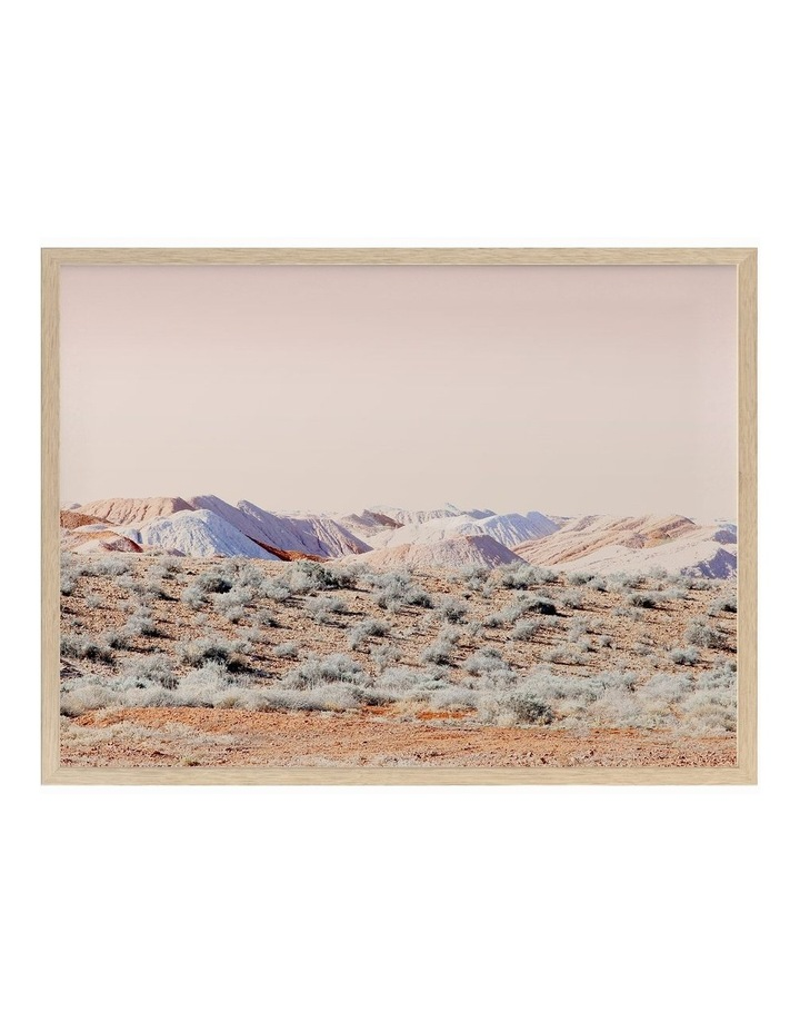 Opal Mining Oak Frame image 1