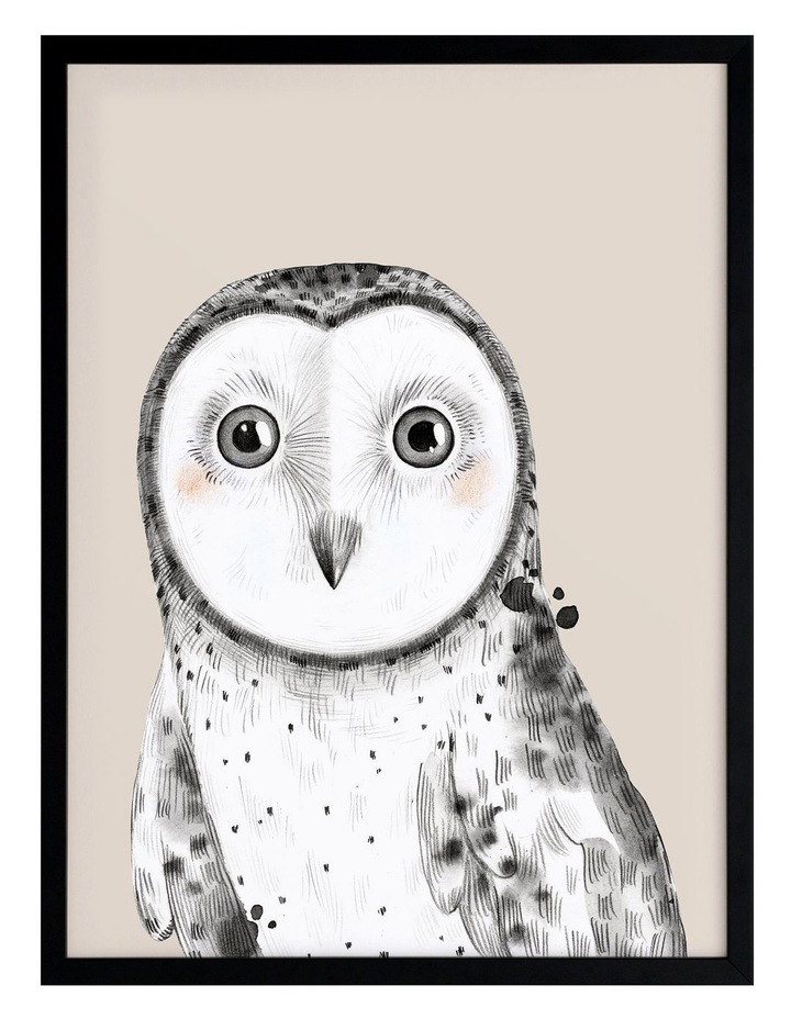 Owl Always Love You Black Frame image 1