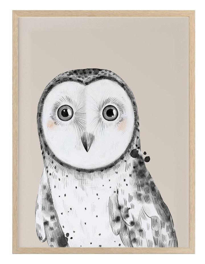 Owl Always Love You Oak Frame image 1