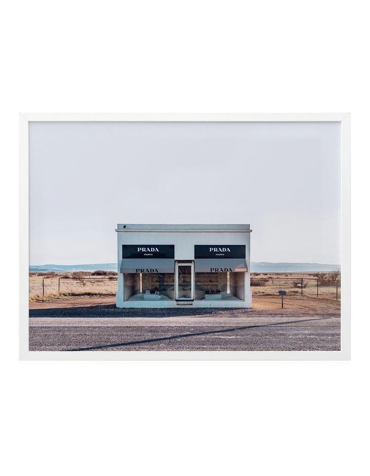 Prada Print White Frame image 1