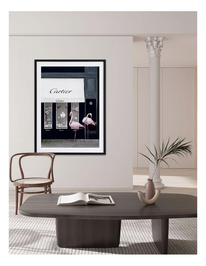 Upper East Side White Frame image 2