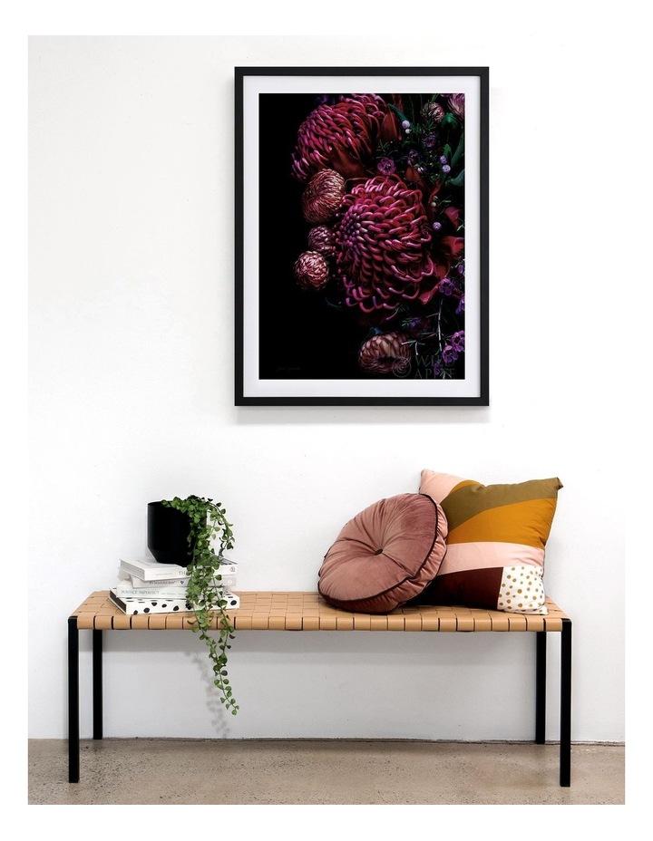 Waratah Bouquet Black Frame image 2