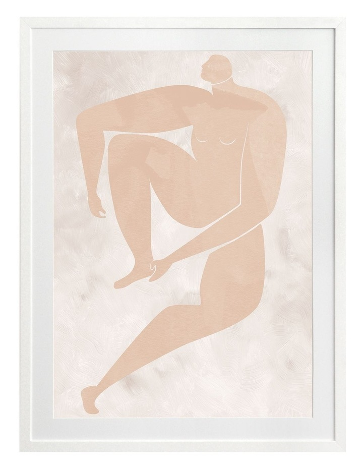 Amelie Cut-Out I Print White Frame image 1