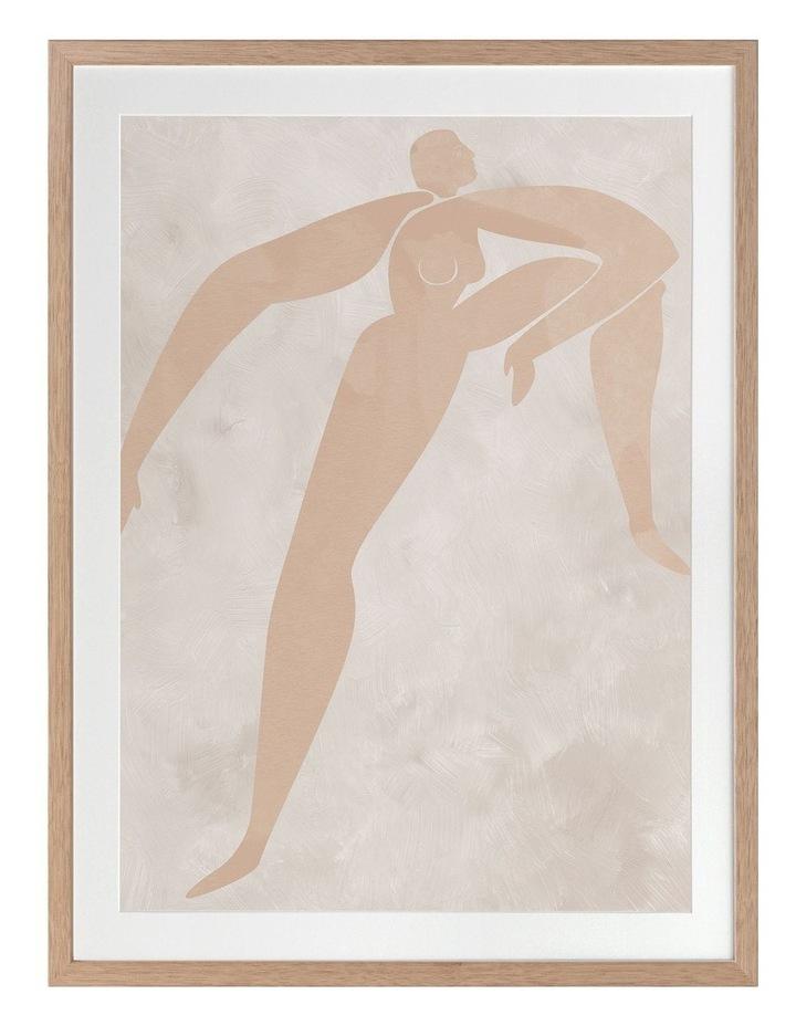 Amelie Cut-Out II Print Oak Frame image 1