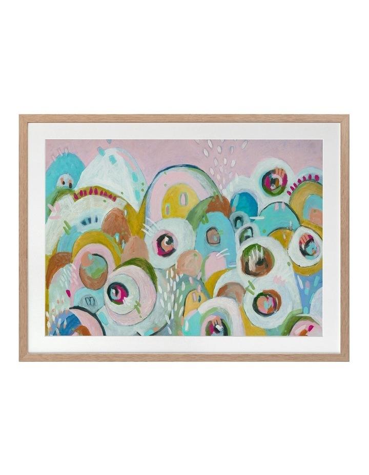 Big Blinky Print Oak Frame image 1