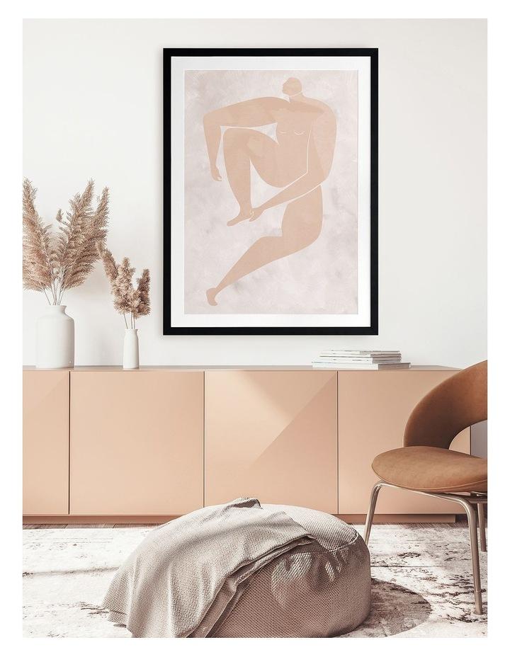 Amelie Cut-Out I Print Black Frame image 2