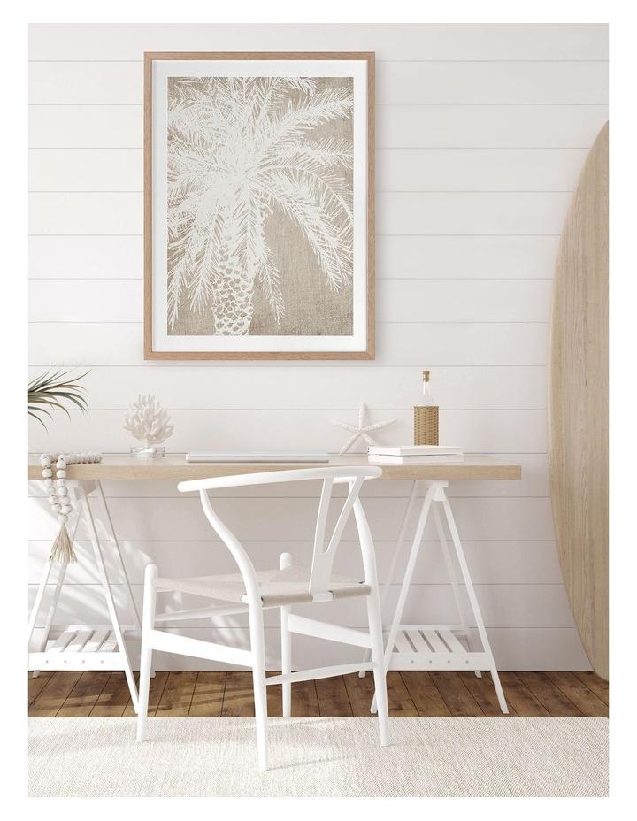 Canary Island I Print Oak Frame image 2