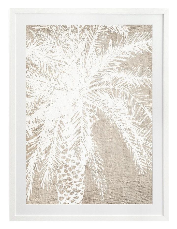 Canary Island I Print White Frame image 1
