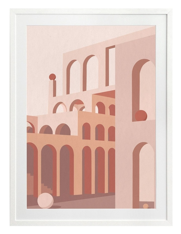 Grand Designs Print White Frame image 1