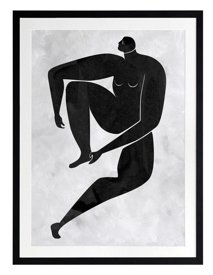 Lydia Cut-Out I Print Black Frame image 1