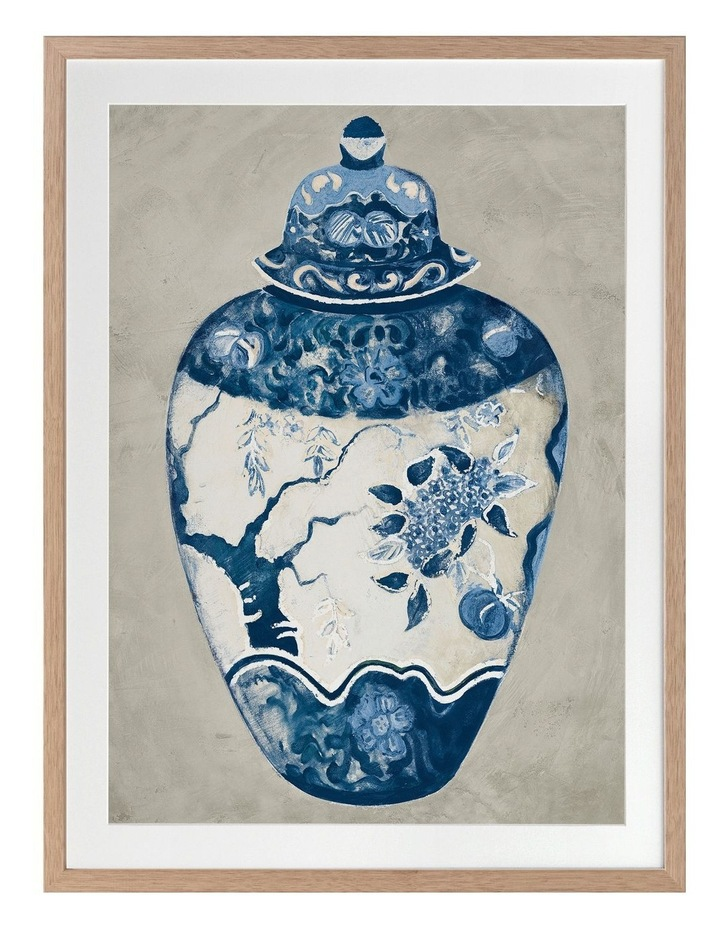 Orient I Print Oak Frame image 1