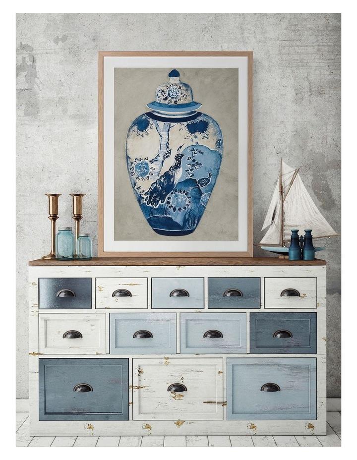 Orient I Print Oak Frame image 2