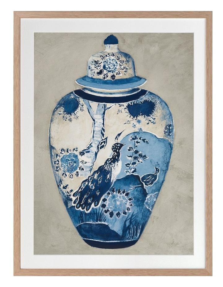Orient II Print Oak Frame image 1
