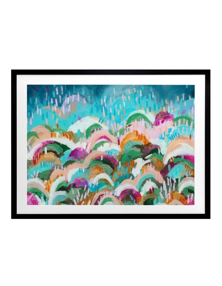 Rainbow Hills Print Black Frame image 1